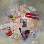 """Acrylic and Collage on Paper, 11"""" x 9.75"""""""